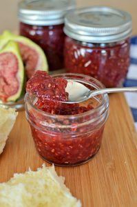 Raspberry Fig Jam