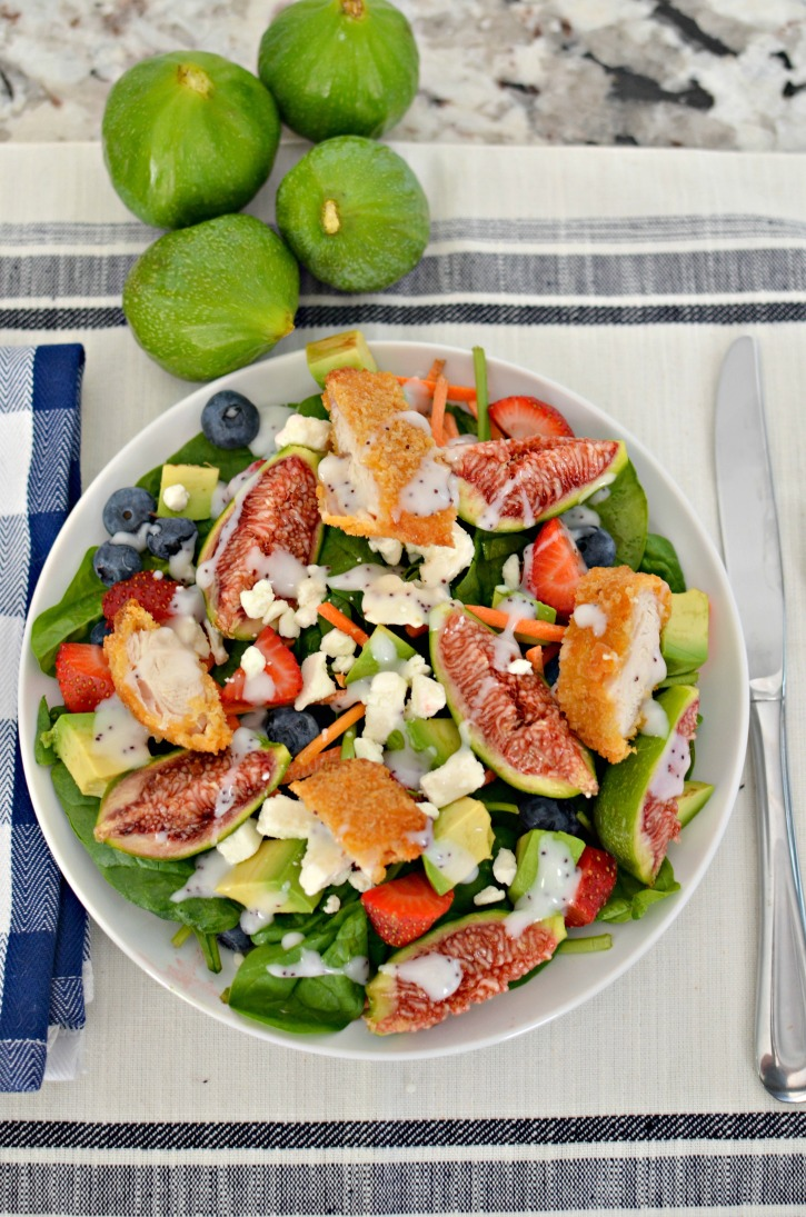 Summer Fruit & Fresh Fig Salad